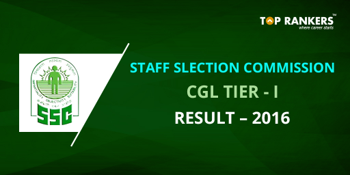 SSC CGL Results 2016 Tier I Declared Today (8th Nov 2016)